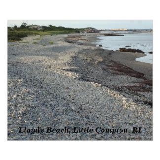 Lloyd's Beach, Little Compton, Rhode Island Photo Print