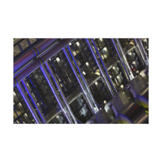 Lloyd's Building London abstract Canvas Print