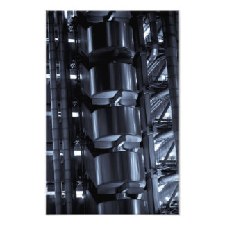 Lloyd's Building London abstract Photo Print