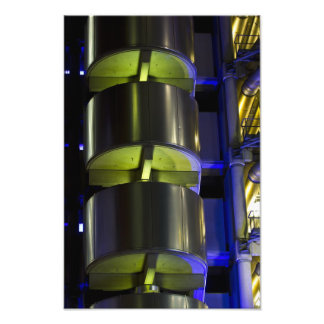 Lloyd's Building London abstract Photographic Print