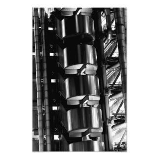 Lloyd's Building London abstract Photograph
