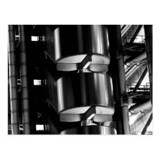 Lloyd's Building London abstract Postcard
