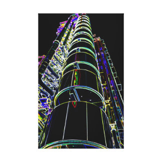Lloyd's Building London Art Canvas Print