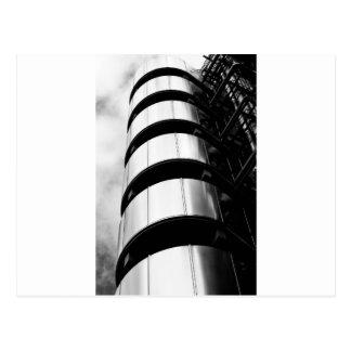 Lloyds,  Lloyd's, London, England, city, banks, ba Post Card