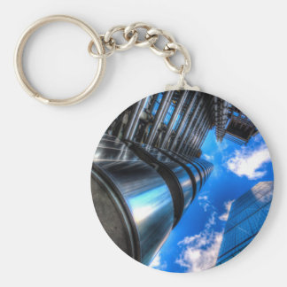 Lloyd's of London and Cheese Grater Basic Round Button Key Ring