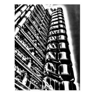 Lloyd's of London Building Postcards