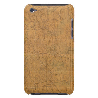 Lloyd's official map of the state of Tennessee Barely There iPod Case