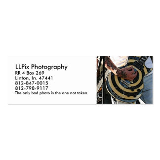 LLPix Photography Pack Of Skinny Business Cards