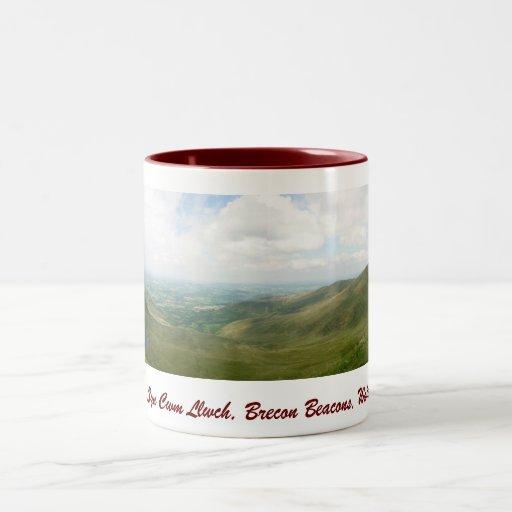 Llyn Cwm Llwch Brecon Beacons mug 2