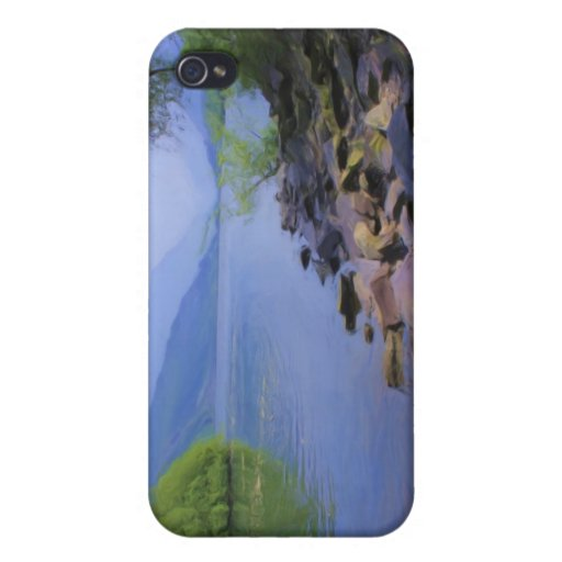 Llyn Padarn Snowdonia 4 iPhone 4 Case