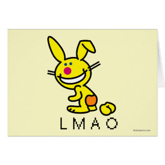 LMAO GREETING CARD