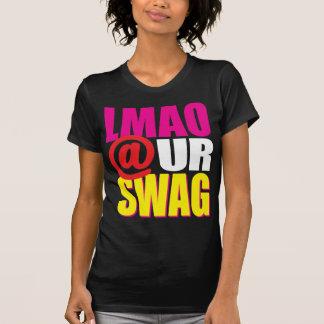 LMAO @ UR SWAG Pink T-Shirt