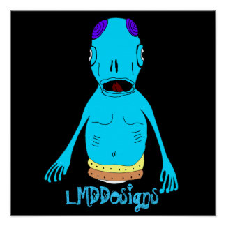 LMDDesigns alien Poster