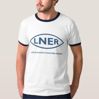 LNER London North Eastern Railways Hiking Duck T-Shirt