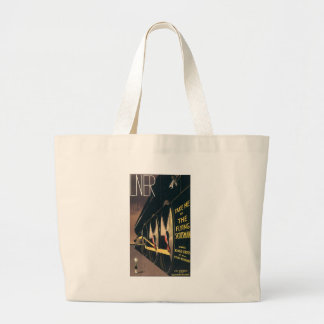 LNER Take Me by the Flying Scotsman Large Tote Bag