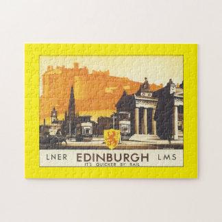 LNR Edinburgh LMS_Vintage Travel Poster Puzzle