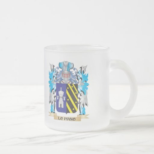 Lo-Piano Coat of Arms - Family Crest Mugs