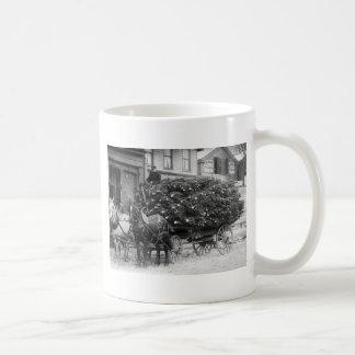 Load of Xmas Trees 1910 Mugs