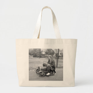 Load Test early 1900s Canvas Bag