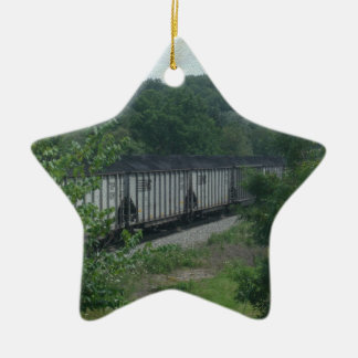Loaded Coal Train Christmas Ornament
