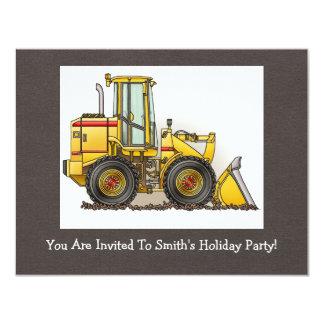 Loader 11 Cm X 14 Cm Invitation Card