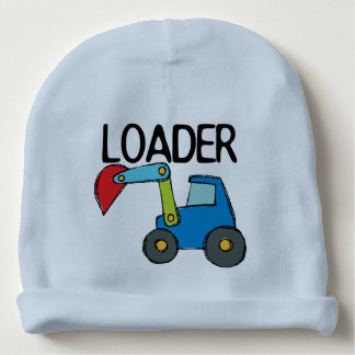 Loader Construction Vehicle Baby Beanie