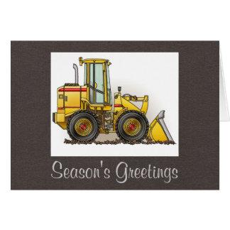 Loader Greeting Card