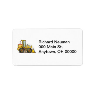 Loader Address Label