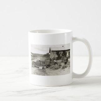 Loading a Mower - 1940 Coffee Mug