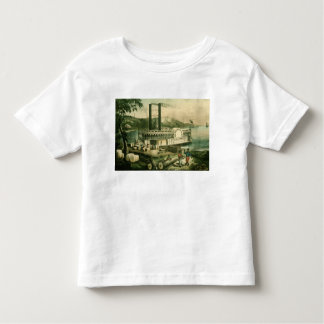 Loading Cotton on the Mississippi, 1870 Toddler T-Shirt
