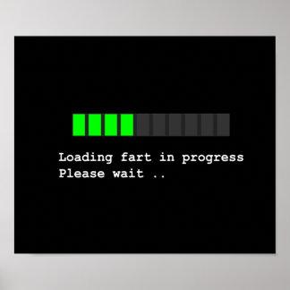Loading Fart in Progress Poster
