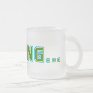 Loading... Frosted Glass Mug