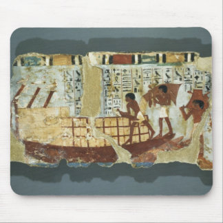 Loading grain, from the Tomb of Unsou, East Mouse Mat