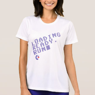 Loading. Ready. Run. Women''s performance shirt