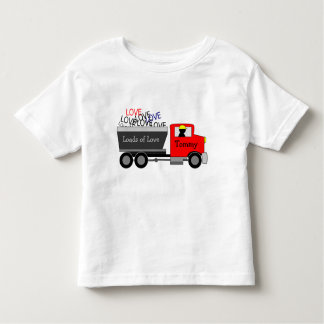 """Loads of Love"" Truck Toddler T-Shirt"