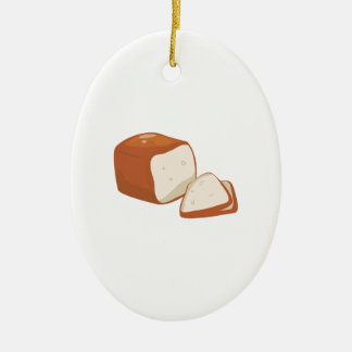 Loaf of Bread Christmas Ornament