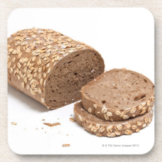 Loaf of bread drink coasters