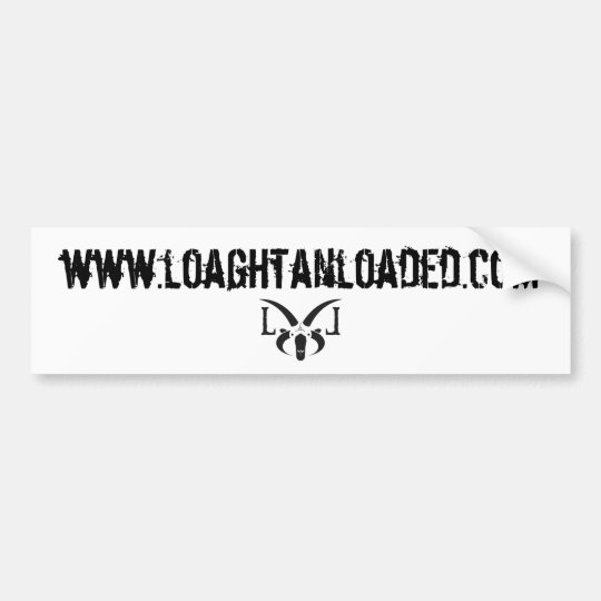 Loaghtan Loaded Club Bumper Sticker