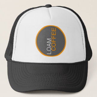 Loam Coffee Trucker Hat - b/w