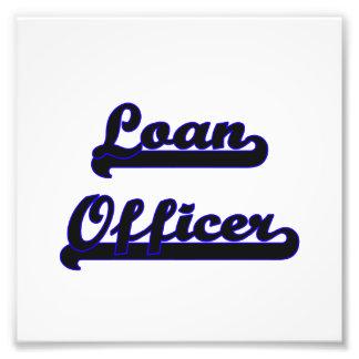 Loan Officer Classic Job Design Photo