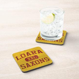 Loara Saxons Athletics Drink Coasters