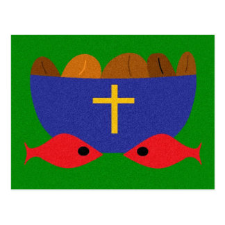 LOAVES & FISHES POSTCARD