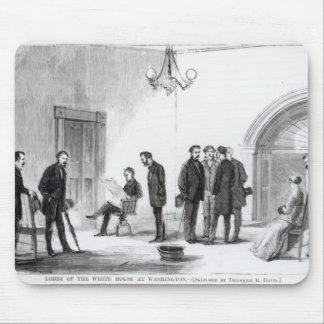 Lobby of the White House at Washington Mouse Mat