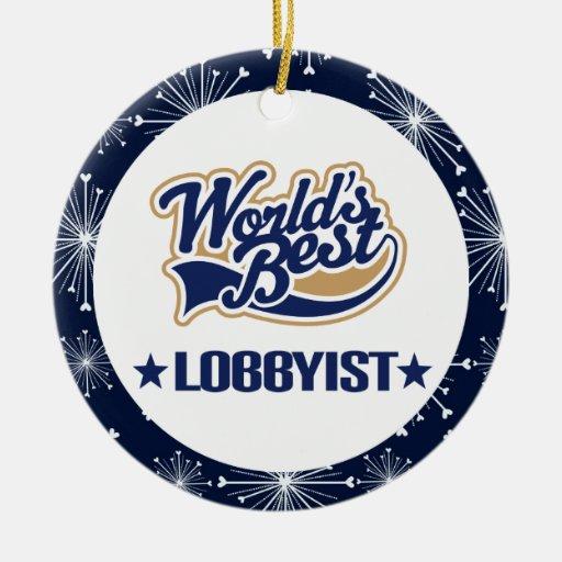 Lobbyist Gift Ornament