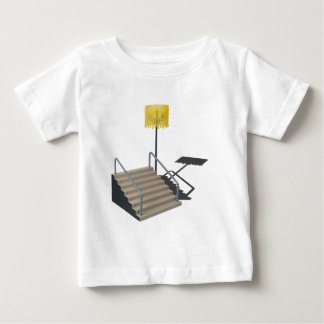 LobbyStairsWithLamp080514 copy.png Baby T-Shirt