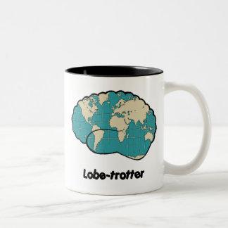 Lobe-trotter Mug! Two-Tone Coffee Mug