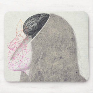 Lobotomy Mouse Mat