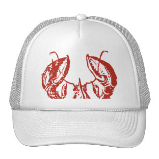 Lobster Art, King of Seafood Gifts Cap
