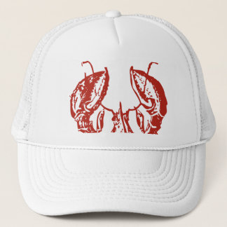 Lobster Art, King of Seafood Gifts Trucker Hat