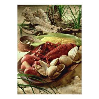 Lobster bake invites
